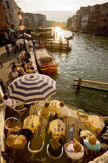 Cafe, Venice, Italy Stock Photo - Premium Rights-Managed, Artist: R. Ian Lloyd, Image code: 700-01235351