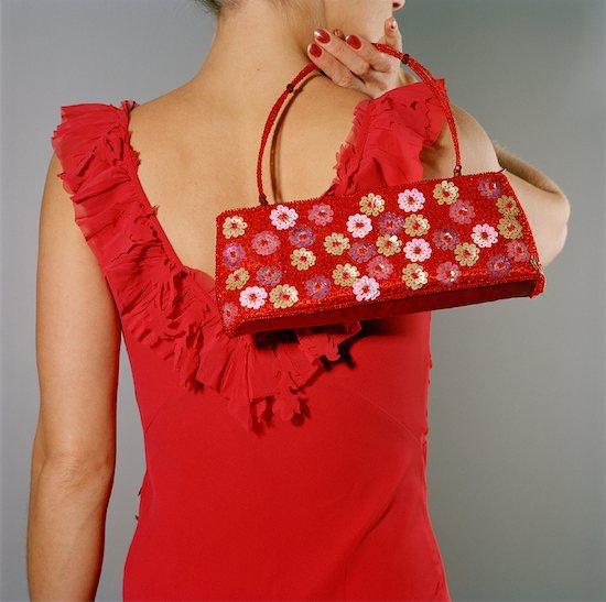 Woman Holding Handbag Stock Photo - Premium Rights-Managed, Artist: Anne Wirtz, Image code: 700-01259906