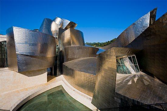 Guggenheim Museum Bilbao, Bilbao, Basque Country, Spain Stock Photo - Premium Rights-Managed, Artist: R. Ian Lloyd, Image code: 700-01879706