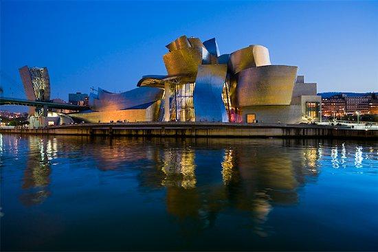 Guggenheim Museum Bilbao, Bilbao, Basque Country, Spain Stock Photo - Premium Rights-Managed, Artist: R. Ian Lloyd, Image code: 700-01879711