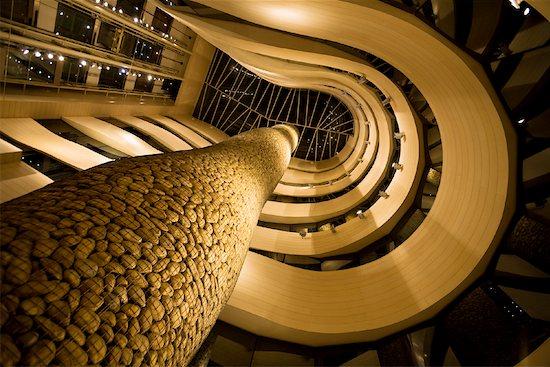Fossil Cypress by Javier Mariscal, Gran Hotel Domonie Bilbao, Bilbao, Basque Country, Spain Stock Photo - Premium Rights-Managed, Artist: R. Ian Lloyd, Image code: 700-01879712