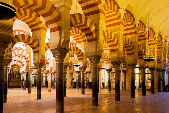 Mezquita, Cordoba, Andalusia, Spain Stock Photo - Premium Rights-Managed, Artist: R. Ian Lloyd, Image code: 700-01879880