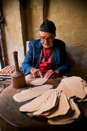 Shop Keeper, Medina of Fez, Morocco Stock Photo - Premium Rights-Managed, Artist: R. Ian Lloyd, Image code: 700-01879921