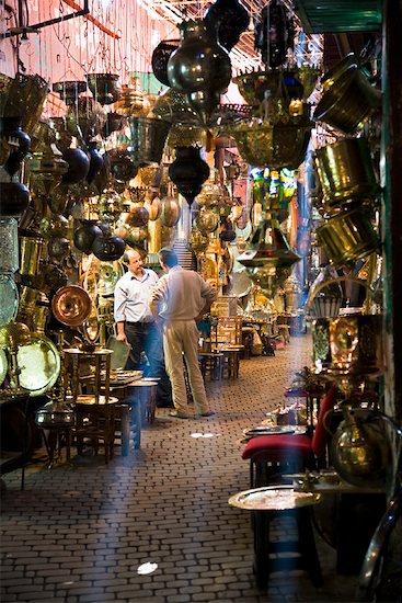 The Medina of Marrakech, Morocco Stock Photo - Premium Rights-Managed, Artist: R. Ian Lloyd, Image code: 700-01879962