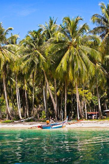 Island in Bungus Bay, Sumatra, Indonesia Stock Photo - Premium Rights-Managed, Artist: R. Ian Lloyd, Image code: 700-02046607