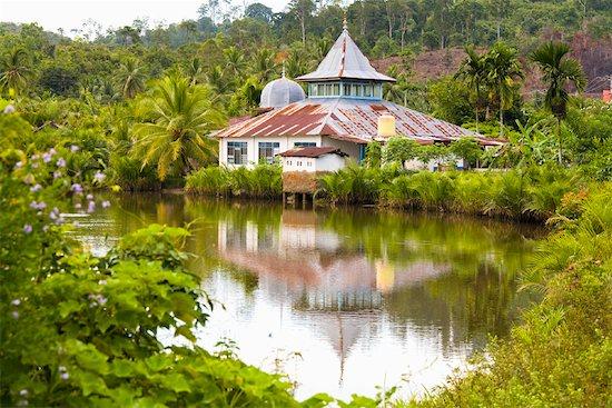 Mosque, Sumatra, Indonesia Stock Photo - Premium Rights-Managed, Artist: R. Ian Lloyd, Image code: 700-02046625