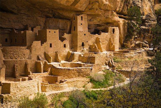 Cliff Palace, Mesa Verde National Park, Colorado, USA Stock Photo - Premium Rights-Managed, Artist: R. Ian Lloyd, Image code: 700-02175702