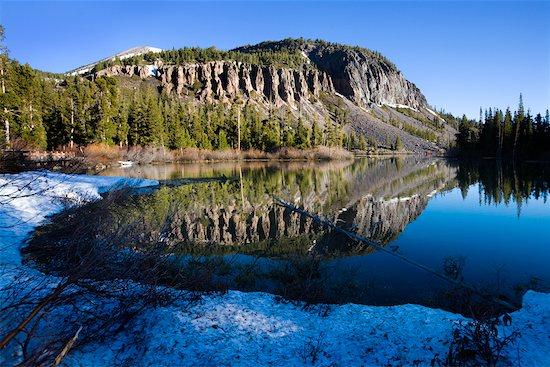 Twin Lakes Near Mammoth Lakes, California, USA Stock Photo - Premium Rights-Managed, Artist: R. Ian Lloyd, Image code: 700-02175842