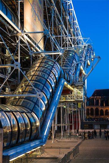 Pompidou Centre, Paris, France Stock Photo - Premium Rights-Managed, Artist: R. Ian Lloyd, Image code: 700-03068648