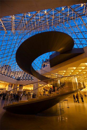 The Louvre, Paris, Ile de France, France Stock Photo - Premium Rights-Managed, Artist: R. Ian Lloyd, Image code: 700-03068861