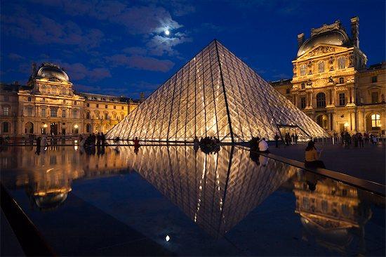 The Louvre, Paris, Ile de France, France Stock Photo - Premium Rights-Managed, Artist: R. Ian Lloyd, Image code: 700-03068875