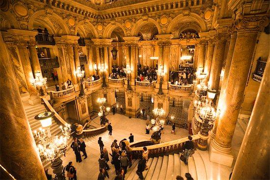 Garnier Opera, Paris, Ile de France, France Stock Photo - Premium Rights-Managed, Artist: R. Ian Lloyd, Image code: 700-03068890