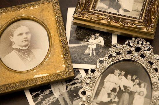 Antique Photographs Stock Photo - Premium Rights-Managed, Artist: Amy Whitt, Image code: 700-03178989