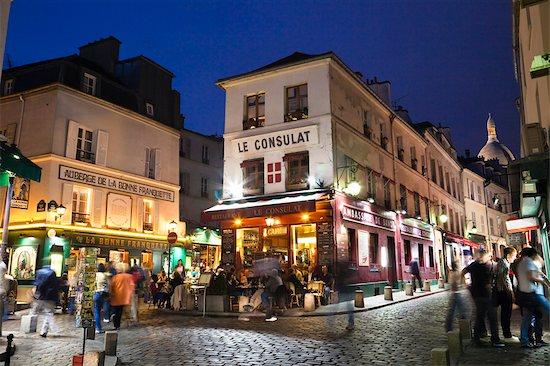 Montmartre, Paris, Ile de France, France Stock Photo - Premium Rights-Managed, Artist: R. Ian Lloyd, Image code: 700-03210678