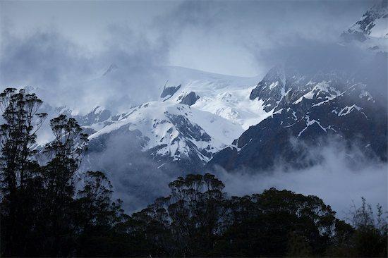 Southern Alps, Franz Josef Glacier, South Island, New Zealand Stock Photo - Premium Rights-Managed, Artist: R. Ian Lloyd, Image code: 700-03333645