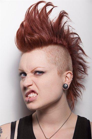 Portrait of Woman Stock Photo - Premium Rights-Managed, Artist: Hiep Vu, Image code: 700-03368818