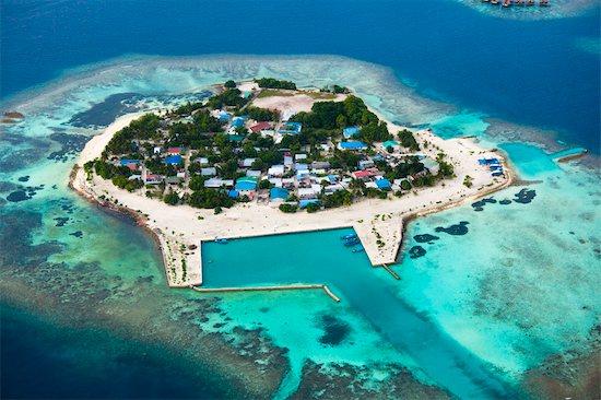 Aerial View of Bodufolhudhoo Island, Alif Alif Atoll, Maldives Stock Photo - Premium Rights-Managed, Artist: R. Ian Lloyd, Image code: 700-03403851