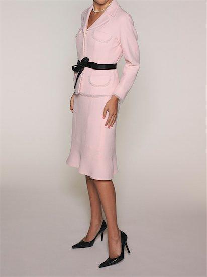Woman wearing Pink Suit Stock Photo - Premium Rights-Managed, Artist: Natasha Nicholson, Image code: 700-03445526