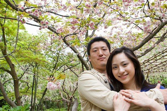 Couple, Heian Shrine, Kyoto, Kyoto Prefecture, Kansai Region, Honshu, Japan Stock Photo - Premium Rights-Managed, Artist: Ikonica, Image code: 700-03508513