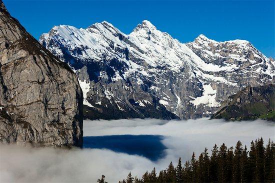 Jungfrau Region, Bernese Oberland, Switzerland Stock Photo - Premium Rights-Managed, Artist: R. Ian Lloyd, Image code: 700-03644493