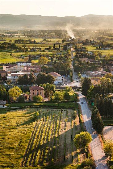 Spello, Umbria, Italy Stock Photo - Premium Rights-Managed, Artist: R. Ian Lloyd, Image code: 700-03641135