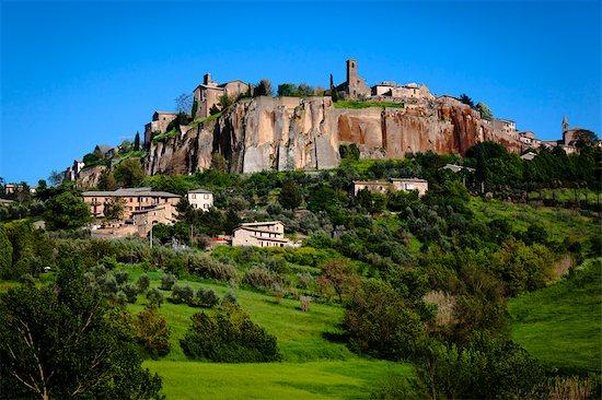 View of Orvieto, Umbria, Italy Stock Photo - Premium Rights-Managed, Artist: R. Ian Lloyd, Image code: 700-03641191