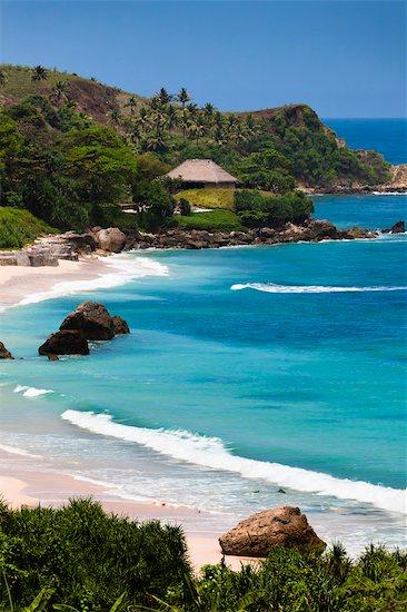 Beach at Nihiwatu Resort, Sumba, Lessert Sunda Islands, Indonesia Stock Photo - Premium Rights-Managed, Artist: R. Ian Lloyd, Image code: 700-03665762