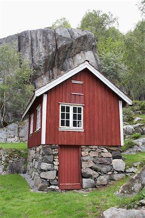 Scandinavian House Exterior Stock Photos Page 1 Masterfile
