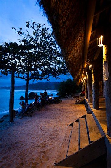 Dusk at Nihiwatu Resort, Sumba, Indonesia Stock Photo - Premium Rights-Managed, Artist: R. Ian Lloyd, Image code: 700-03696904