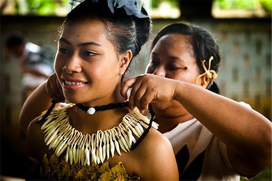Traditional Tongan Dancers at Tonga National Cultural Centre, Nuku'alofa, Tongatapu, Kingdom of Tonga Stock Photo - Premium Rights-Managed, Artist: R. Ian Lloyd, Image code: 700-03814162
