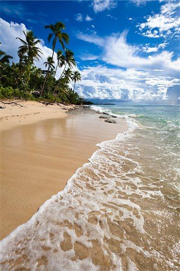 Tropical Beach, Ha'apai, Kingdom of Tonga Stock Photo - Premium Rights-Managed, Artist: R. Ian Lloyd, Image code: 700-03814191