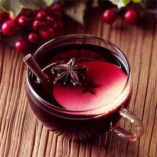 Appleberry Mulled Wine Stock Photo - Premium Rights-Managed, Artist: foodanddrinkphotos, Image code: 824-06491855