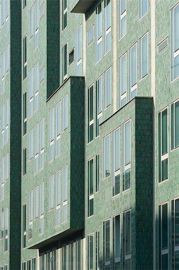 Montedoria Building, Milan. Architects: Gio Ponti with Antonio Fornaroli Stock Photo - Premium Rights-Managed, Artist: Arcaid, Image code: 845-03463606