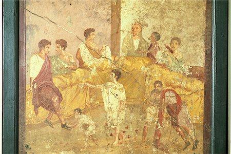 Roman fresco painting Stock Photos - Page 1 : Masterfile