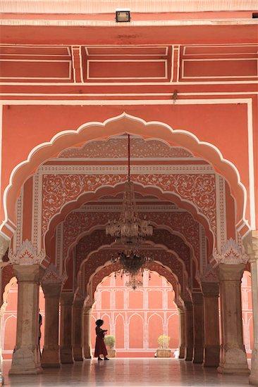 City Palace, Jaipur, Rajasthan, India, Asia Stock Photo - Premium Rights-Managed, Artist: robertharding, Image code: 841-03870351